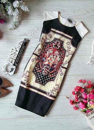 Шикарное платье с принтом