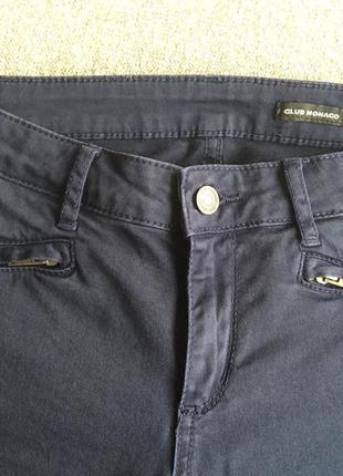 Джинсы темно синие polo ralph lauren. коллекция club monaco, xs, s, оригинал
