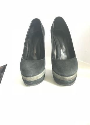Туфли замшевые marco pini 35 размер