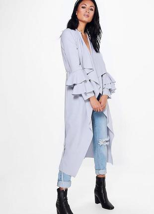 🌿📣🔝 лёгкое пальто 🍭от 🇬🇧 бренда boohoo ™️💎🌿