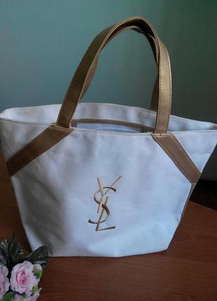 Комбинированная сумка yves saint laurent