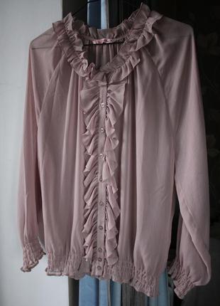 Блуза calliope, блузка из шифона