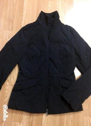 Фирменная стеганная куртка h&m,черная курточка,весна-осень+подарок
