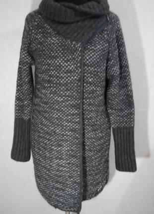 Вязаный кардиган шерсть - альпака guess