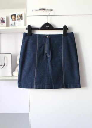 Классная джинсовая юбка от new look