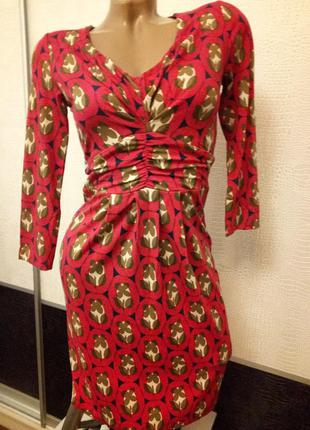 Трикотажное платье-туника boden