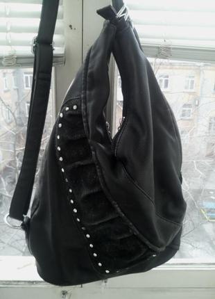 Молодежный рюкзачек со стразами