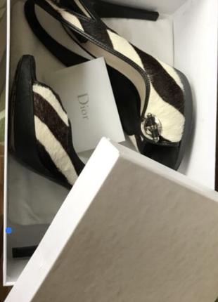 Dior туфли ( босоножки, сабо) оригинал
