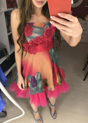 Безумно красивое пышное платье