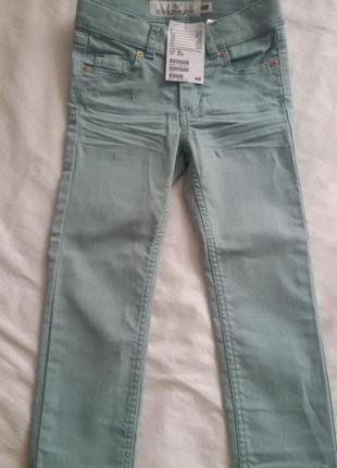 Детские новые джинсики h&m (хм) на девочку 2-3года