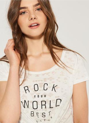 17-30 футболка женская sinsay