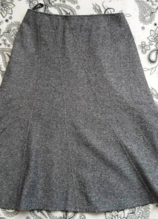 Теплая юбка clockhouse с высокой посадкой