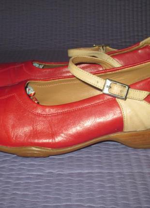 Туфли, мокасины clarks, европейский uk 5,5 , наш  39  размер, кожа