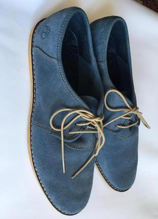 Мужские замшевые ботинки timberland