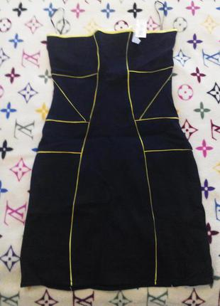 Платье бюстье bershka s.новое
