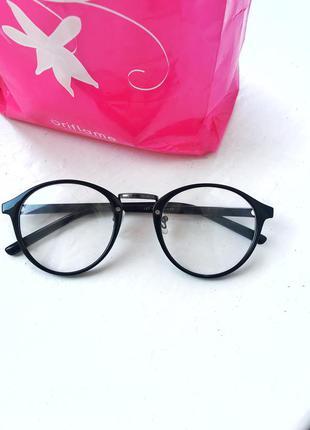 Очки имидживые с прозрачными стёклами