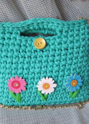 47798f390075 Детская сумочка из трикотажной пряжи Hand Made, цена - 165 грн ...