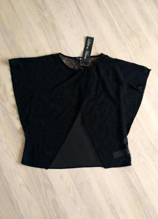 Черный топ-блуза little mistress