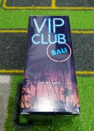 Парфюмированный спрей для тела vip club bali