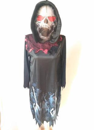 Карнавальный костюм на хэллоуин 11 12 лет 146 152 см