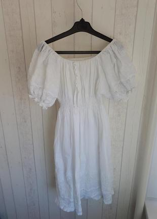 Летнее женственное платье