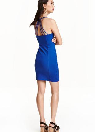 Трикотажное платье h&m арт 5137