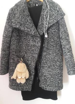 Стильное пальто на молнии🛍предложите свою цену 🤔