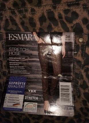 Модные фирменные скинни  с завышенной талией esmara(германия)