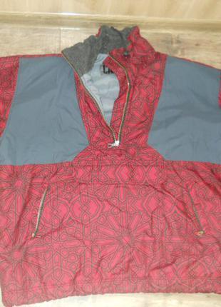 Куртка дождевик ветровка анорак размер l - xl
