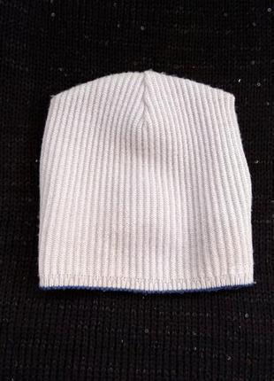 Тонкая шерстяная шапочка, шапка ог 53-55 см