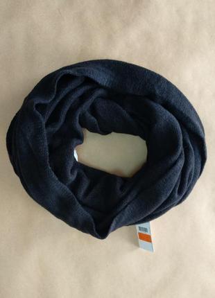 Теплый черный шарфик pimkie