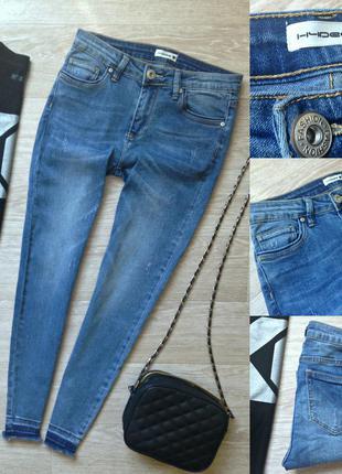#269 джинсы скинни средней посадки hudee ( chicoree)