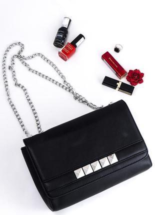 Классическая сумка - флап, с ручками - металлическими цепями, bonprix