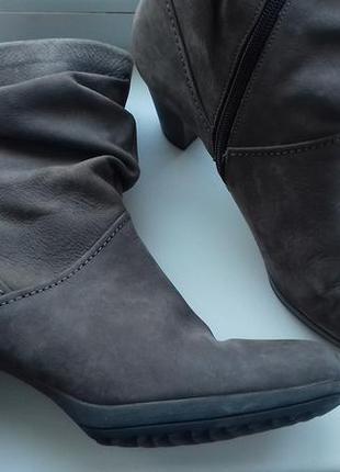 Gabor 38.5 р полусапожки ботинки габор / нубук