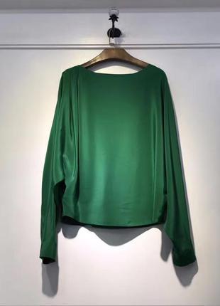 Шелковая блуза dior размер м