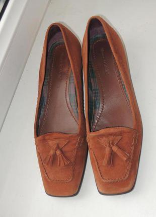Стильные кожаные туфли лоферы marc o'polo р.36-37 (23,5 см)