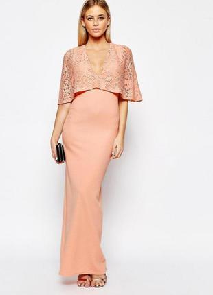 Нарядное платье club l (asos)
