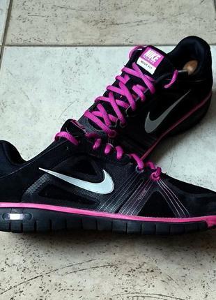 Кроссовки для бега nike move fit black vivid grape 469770-003 р.38 ст.25см