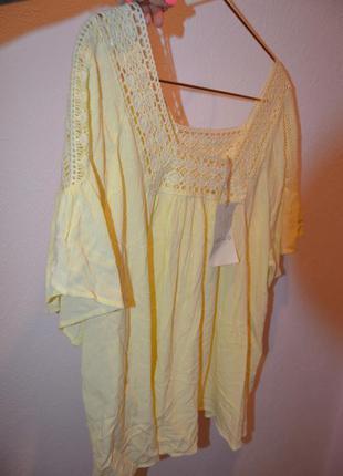 Новая красивая свободная блузочка