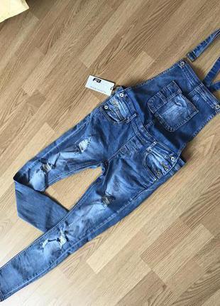 Комбинезон ромпер джинс new yorker