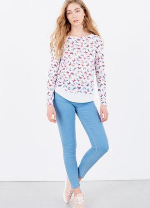 Стильные джинсы c бабочками springfield, 34, 38р, оригинал, испания