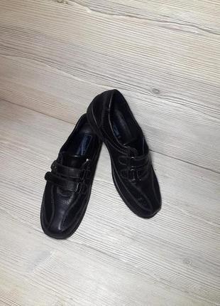 Туфли ботинки кожаные medicus германия 38,5р./25,5см. ортопедическая обувь!