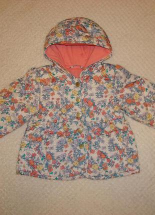 Курточка балоньевая на хлопковой подкладке весна-осень
