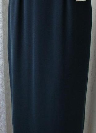 Юбка женская легкая демисезонная удлиненная элегантная бренд libra р.44 №5743