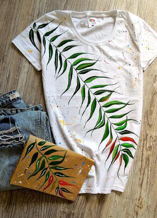 Поделиться:  нереально крута футболочка♥ handmade ♥=))
