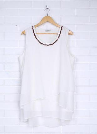 С нюансом цена снижена 56 58 евро нарядная воздушная освежающая батальная блуза c&a