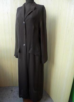 Удлиненная блуза /летних пляжный  кардиган m/l