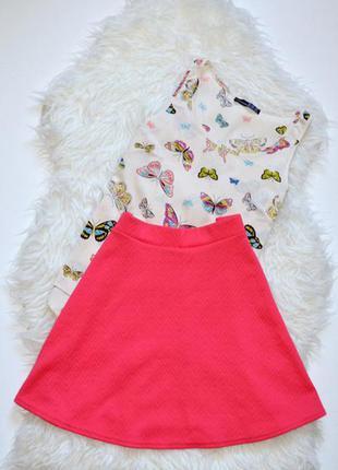 Красивая юбка цвета чайной розы