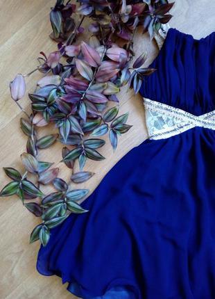 Пышное платье мини