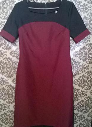 Двухцветное платье laura bettiny